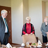 Dr. Flavius Killebrew(left) Janet Tysinger and Dr. Eve Layman. At the Layman Professorship Signing Luncheon in TAMU-CC. Wednesday December 16, 2015.