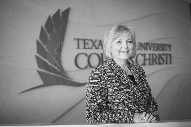 Dr. Eve Layman during the Layman Professorship Signing Luncheon in TAMU-CC. Wednesday December 16, 2015.