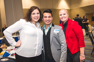 Amanda Sanchez(left) Justin Comenero and Christine Grissom.
