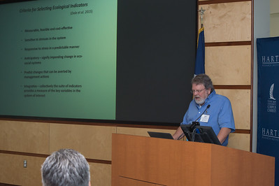 Mark Harwell speaking about the Criteria for Selecting Ecological Indicators.