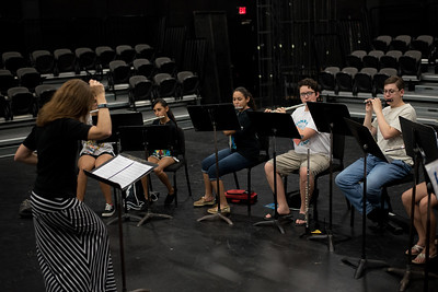 Flute Sectional in the Wilson Black box.