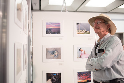 Ron George takes a look at the submissions displayed at the Islander Cell Phone Photography Show.