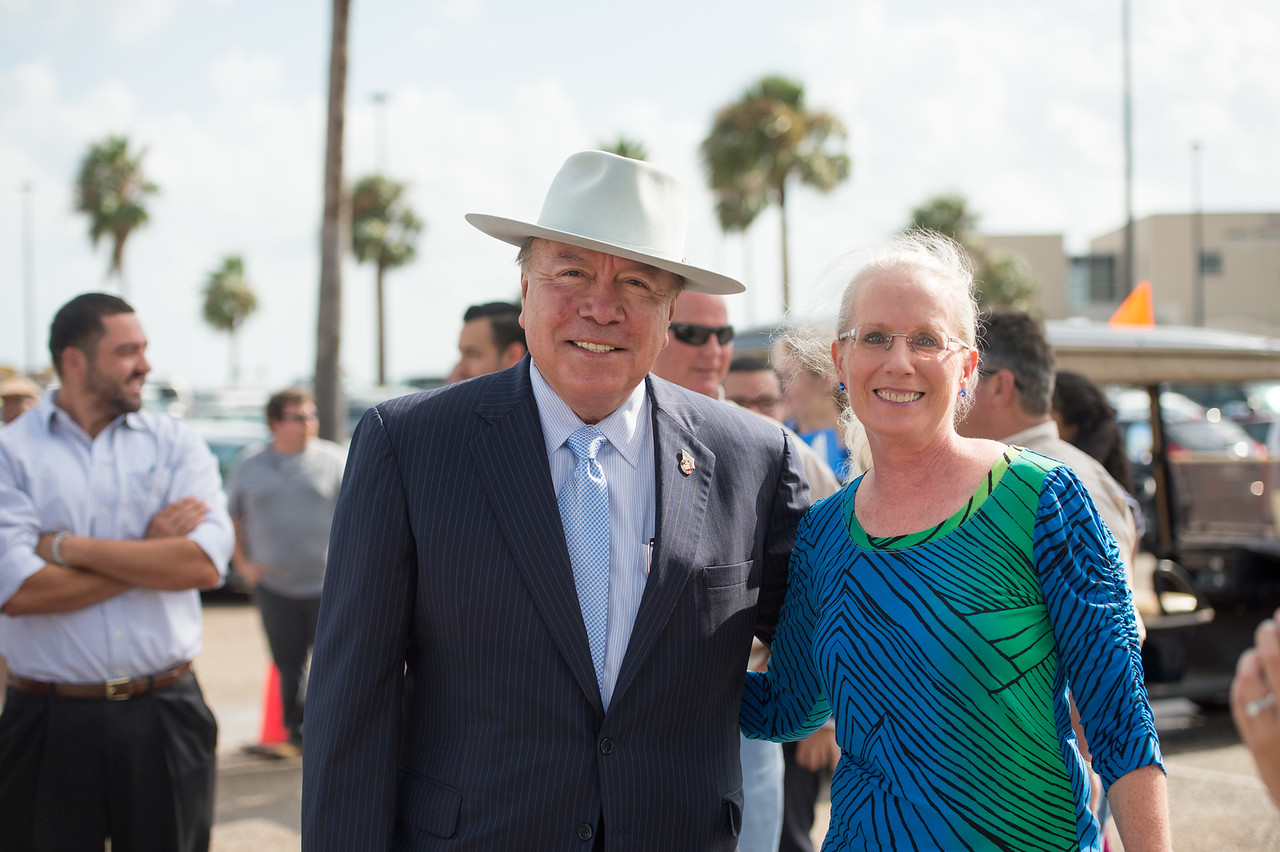 Senator Chuy Hinojosa and Kathy Killebrew