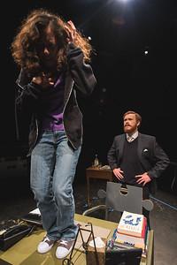 Kristina Jaime (Frannie Bascome ) and Connor Flynn (Dr.Michaels)