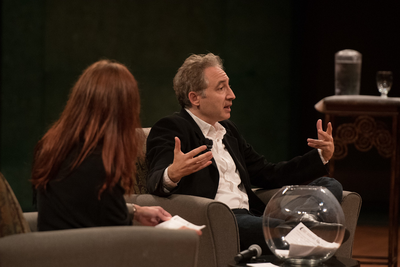 TAMU-CC / Marketing & Communications Dr. Brian Greene during the Q&A segment of the DSS Brian Greene.