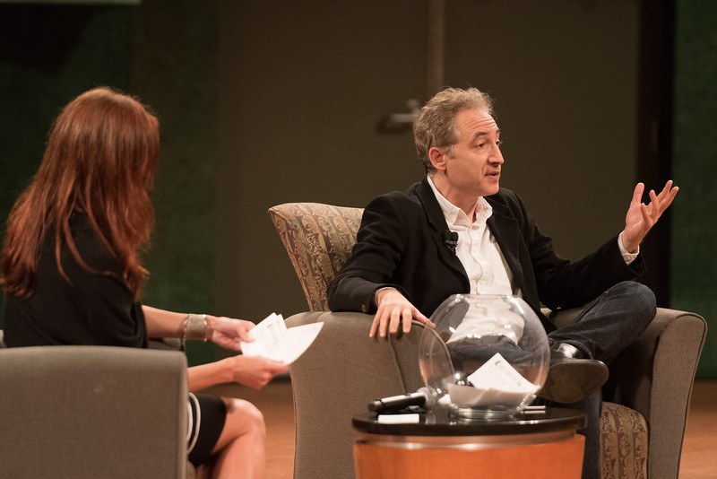 TAMU-CC / Marketing & Communications Dr. Brian Greene during the Q&A segment of the DSS Brian Greene.