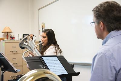 Christina Gonzalez and Dr.  Dan Sipes