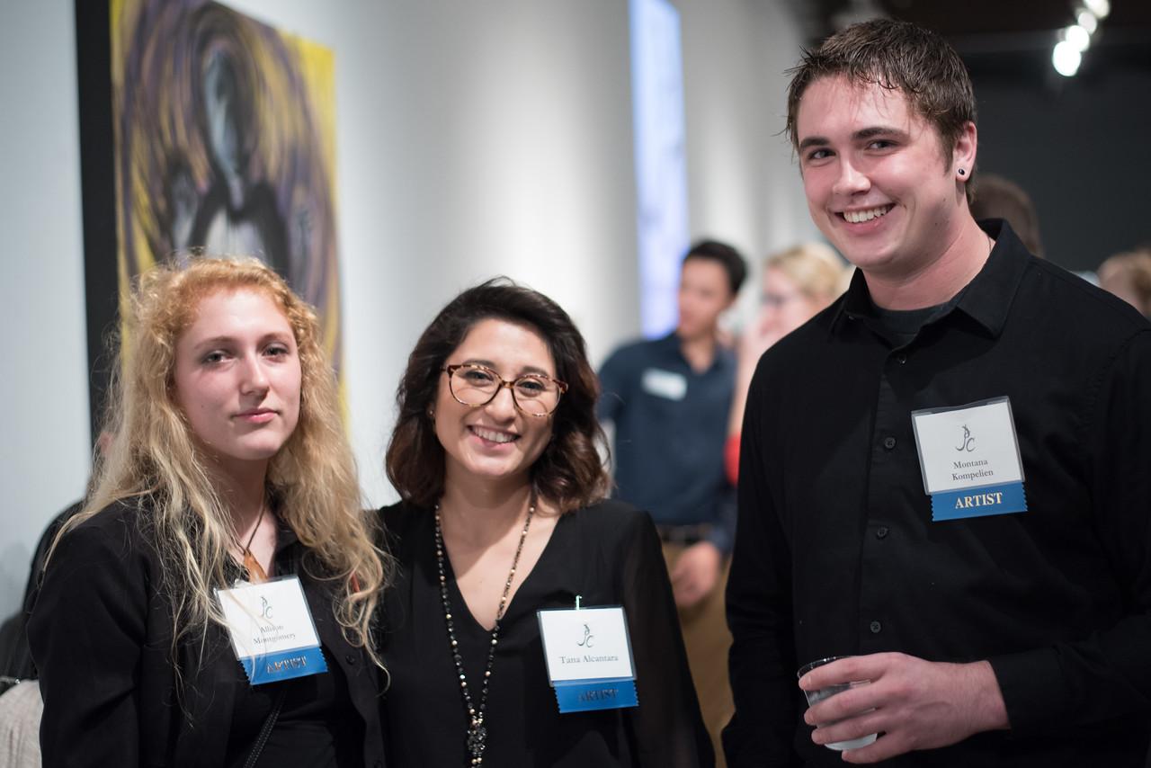 Allison Montgomery, Tana Alcantara and Montana Kimpelien.