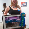 Second place for the PC Art Show. Ambrosia Washington with art piece titled Morning - photography.