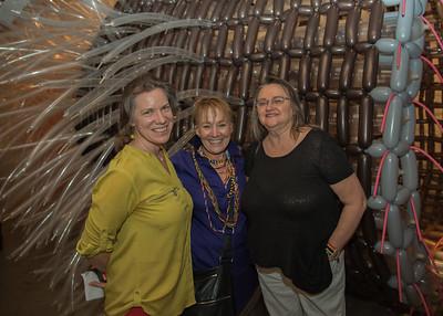 Dehnal Fillerter, Deborah Grez, and Lynda Jones pose for a photo.