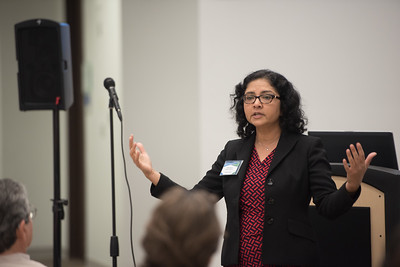 Attorney Mini Kapoor speaks during the patents and trademarks educational workshop. Saturday January 21, 2017 in the Coastal Bend Business Innovation Center.