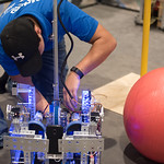 Coastal Bend area students in grades 7-12 developed robots to participate in the FIRST Tech Challenge League Championship. Teams competed in an Alliance format against other teams using a sp ...