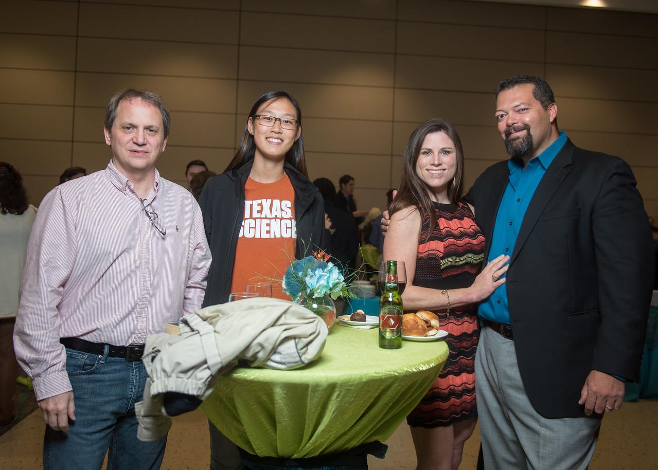 Bruce Paggeot (left), Lisa Paggeot, Alisa Wagner, Daniel Wagner
