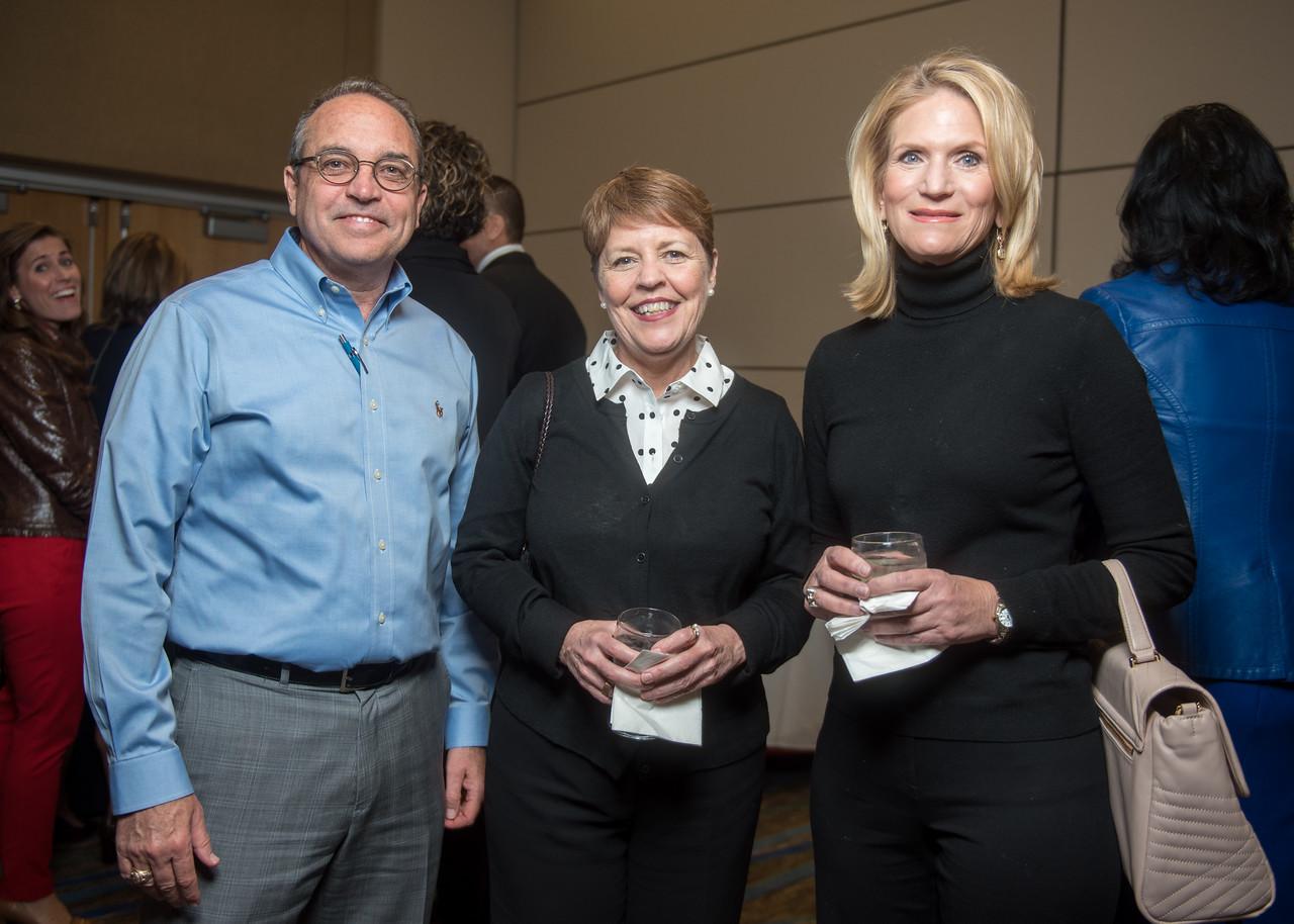 Mike Lippincott (left),  Leslie Niart, Courtney McLain