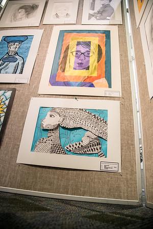 030617 CCISD Youth Art Month Exhibitation