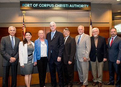 President Emeritus Flavius Killebrew was honored by the Port of Corpus Christi Authority with a Resolution of Appreciation during the Port Commission meeting.