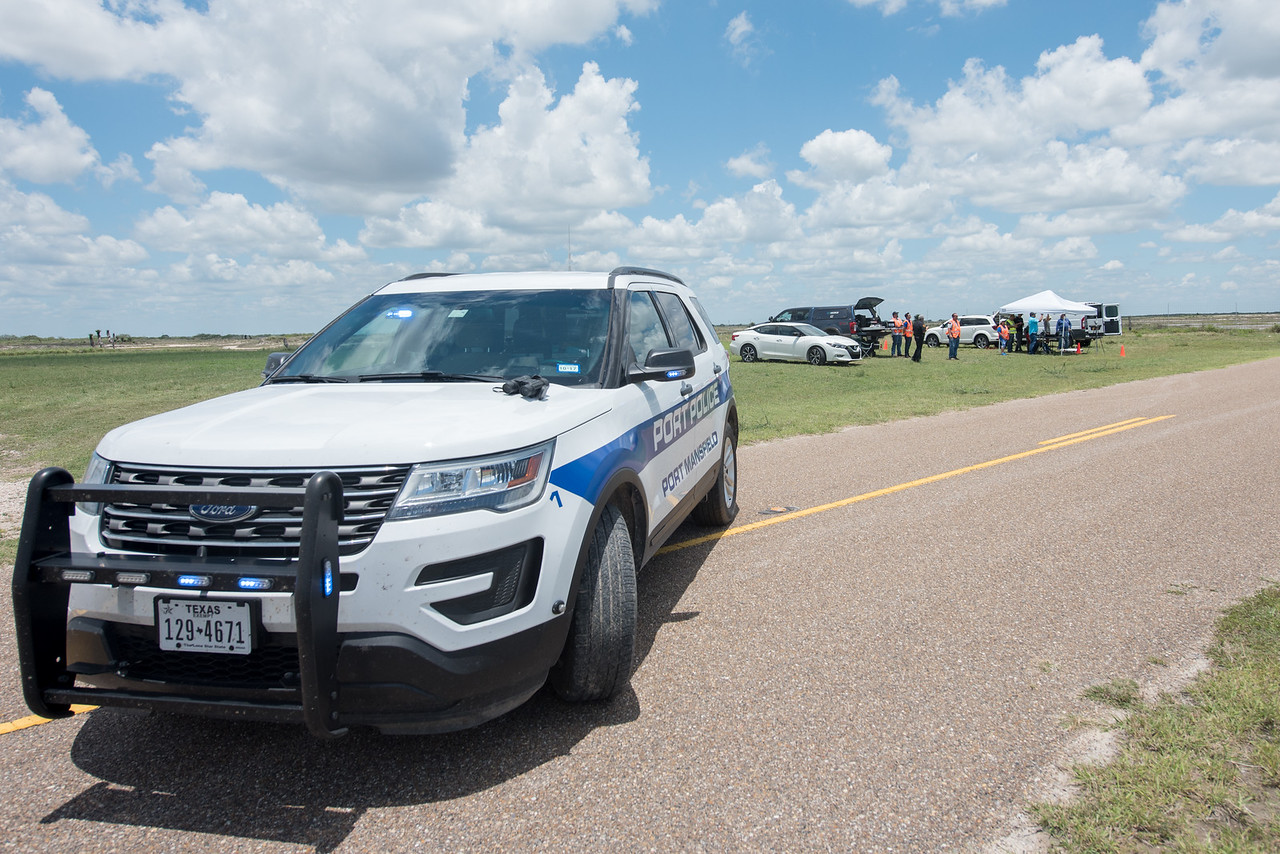 The Port Mansfield police department participated in the Lone Star UAS UTM demo.