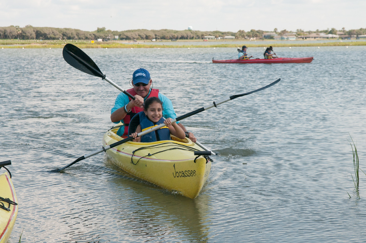 Volunteers from the Office of Community Outreach at Texas A&M University-Corpus Christi upheld their mission of building bridges between the Island University and the community when they spe ...