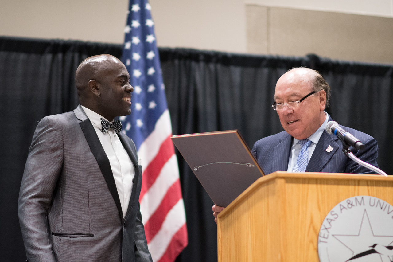A&M-CC Celebrates Local NAACP President's FBI Award Texas ...