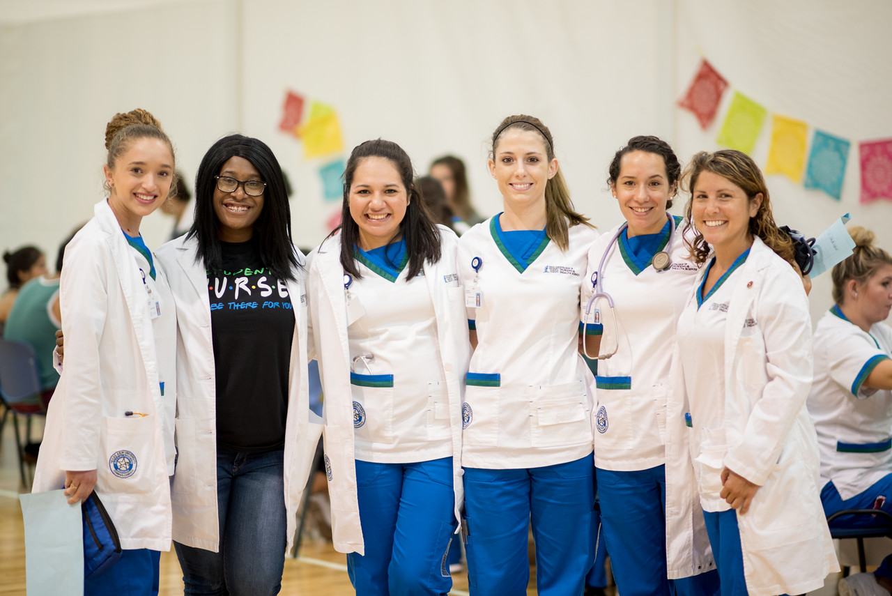 Nursing students and faculty provide blood pressure, BMI, and blood sugar screenings at the Hispanic Health Fair.   Click on the link for more information on upcoming Hispanic Heritage Month ...