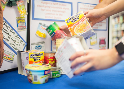 The Mary and Jeff Bell Library hosts Food for Fines to benefit Izzy's Food Pantry and the Coastal Bend Food Bank until November 3rd.