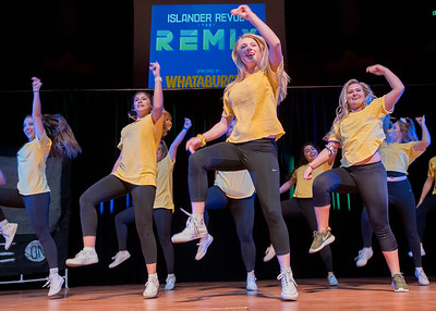 Student organizations at TAMU-CC performed for faculty, staff, and students at the Islander Revue.