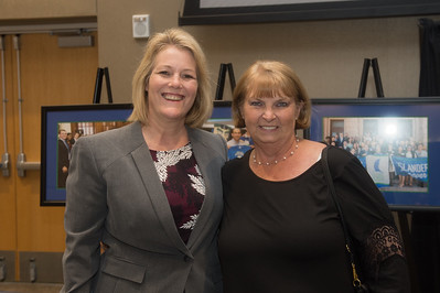 Kelly Quintanilla (left), and Gaye White.