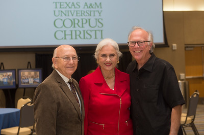Jim and Cecilia Akers (left), and Todd Hunter.