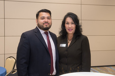 Julian Lopez (left), and Mary Jane Garza.