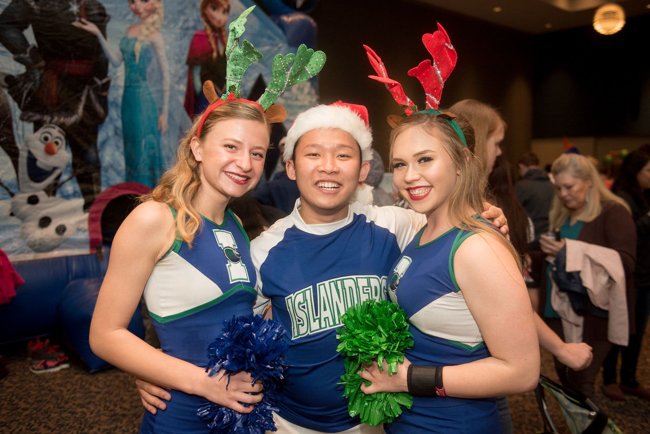 Amanda Christiansen (left), Tommy Tran, and Grace Mansfield.