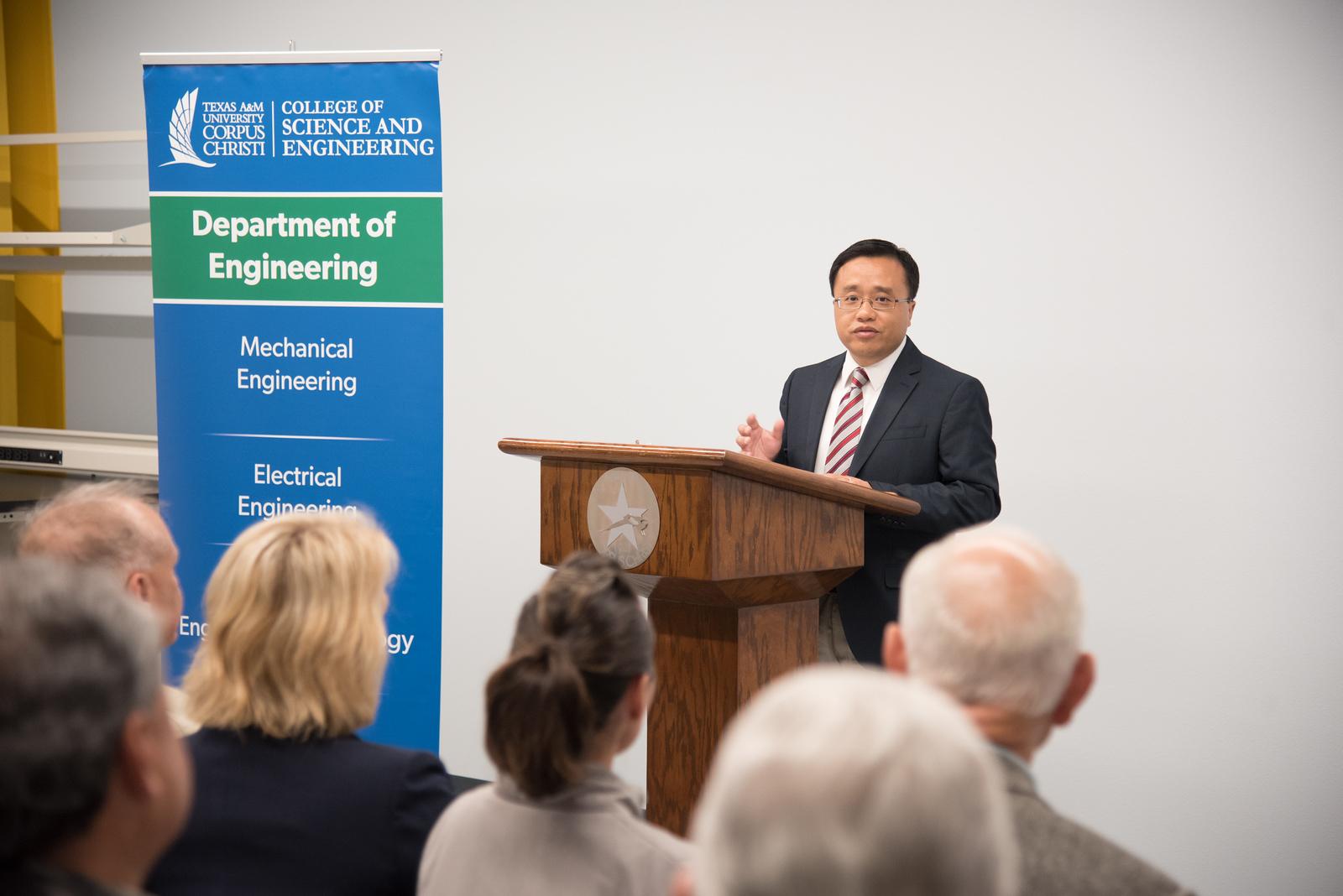 Dr. Hua Zhang Assistan Profesor of Engineering