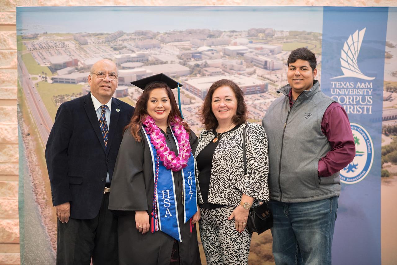 Jose Garay (left), Victoria Garay, Lydia Garay, and Forrest Garay.
