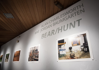 The Alan Charlesworth and Jordan Baumgarten Bear/Hunt gallery is now available in the Weil Gallery through November 17th.  Click the link to view pictures from the gallery: http://smu.gs/2yDOUtA