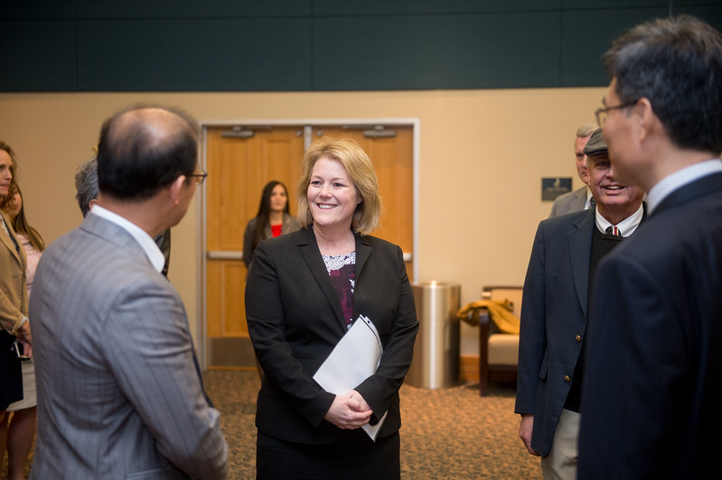 Kelly M. Quintanilla, president and CEO of Texas A&M University-Corpus Christi