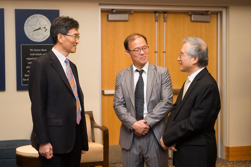 Mr. Heonsoo Kim, Dr. Iltai Kim, and Dr. LD Chen.
