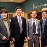 Mr. Junho Jun (left), Mr. Heonsoo Kim, Dr. Iltai Kim, and Dr. Lee Hee Kune.