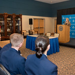 President and CEO, Dr. Kelly Quintanilla addresses what the Memorandum of Agreement means for Texas A&M University-Corpus Christi. Tuesday February 20, 2018 in the University Center.