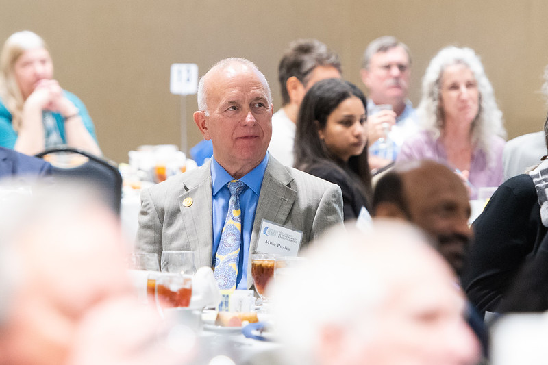 Mike Pusley during the Friends of Engineering Luncheon at Texas A&M University-Corpus Christi.