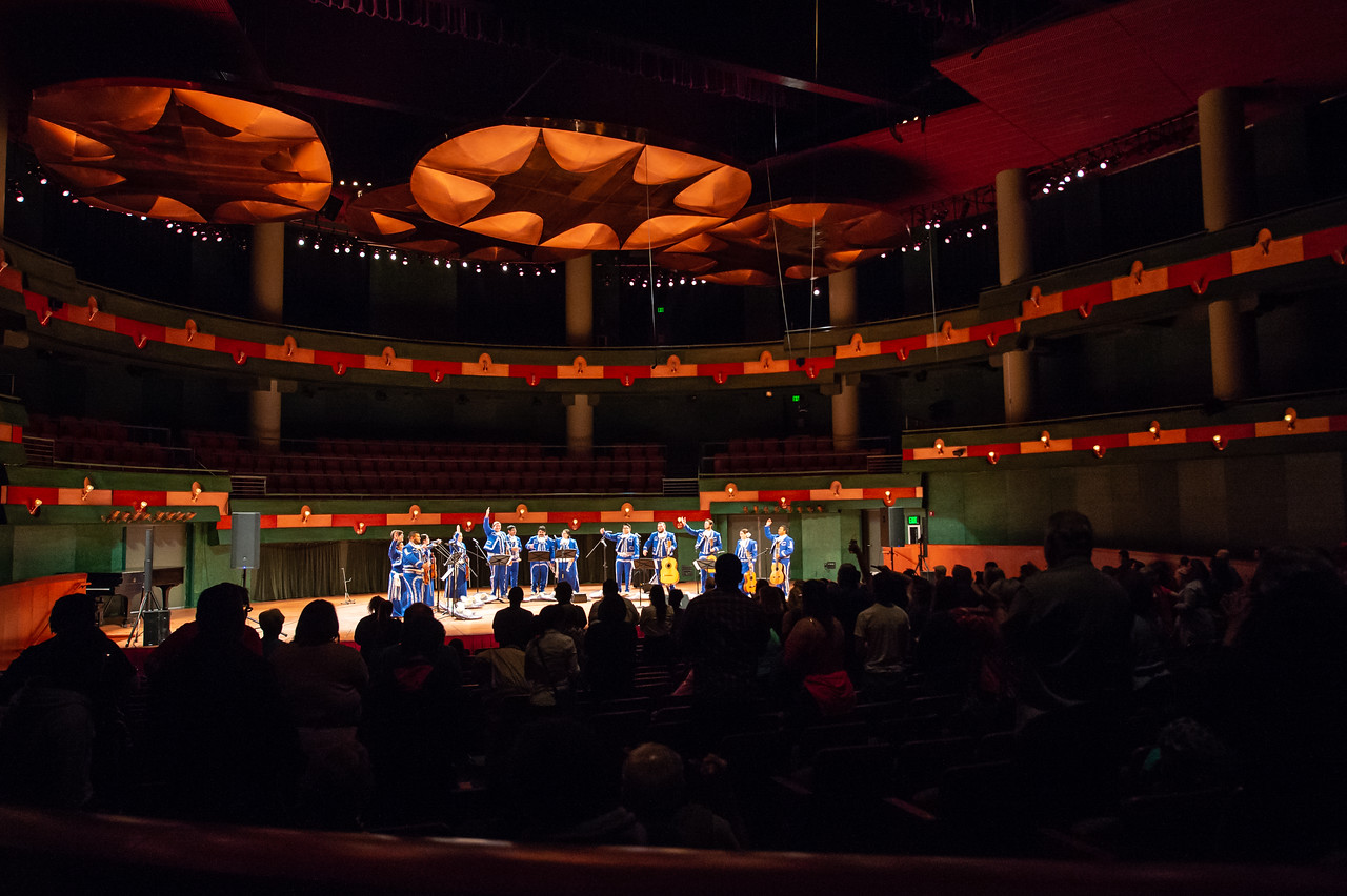 The Mariachi de la Isla had their first formal performance in the Performing Arts Center.