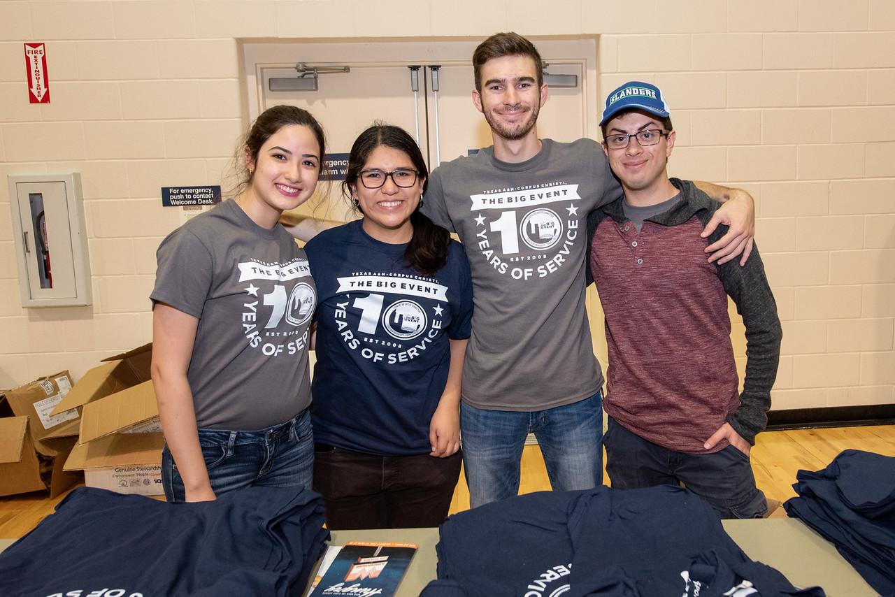 Paula Villalpando (left), Nohelia Jimenez, Daniel Green, Nicolas Alaniz.