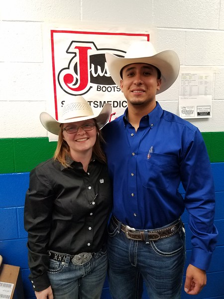 Samantha Pearson & Robert Garza