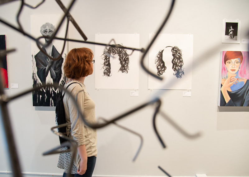 """Catch """"My Medium,"""" an art exhibition featuring works by TAMU-CC students and currently on display at the Islander Art Gallery until May 10."""