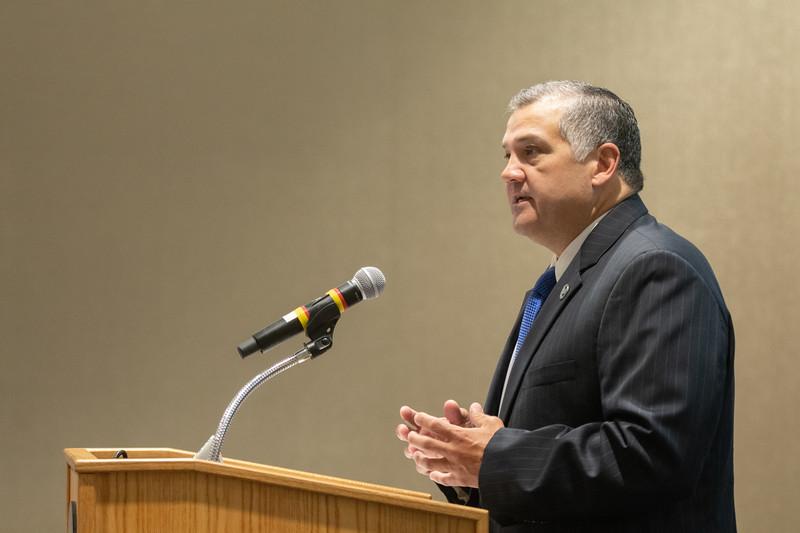 Dr. Mark Escamilla, Del Mar College president.