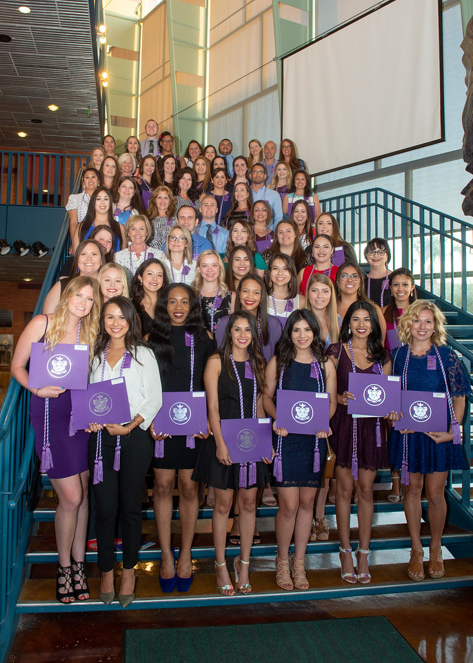 The local chapter of Sigma Theta Tau International Society of Nursing inducted 58 nursing students during their Induction Ceremony held in the Performing Arts Center.  View the full gallery  ...