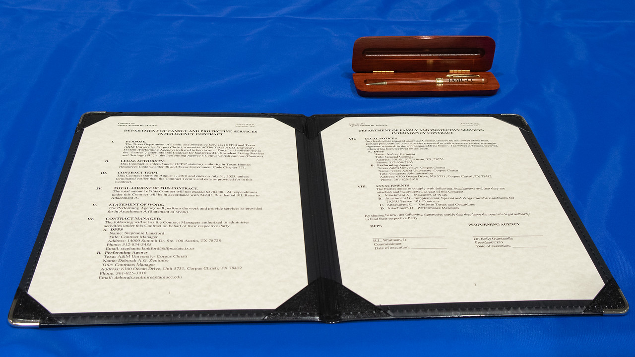 Department of Family and Protective Services Interagency Contract