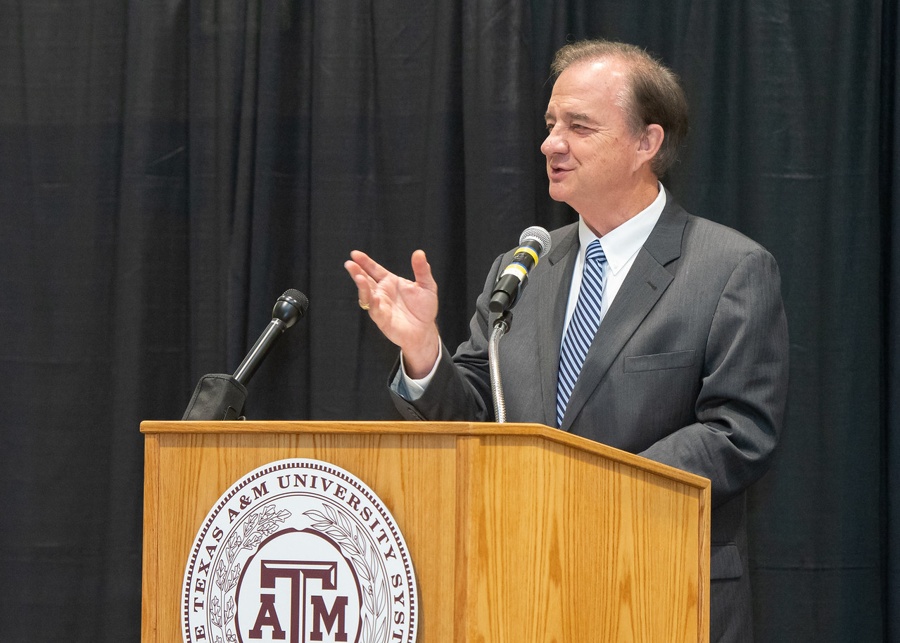 Texas A&M University System Chancellor John Sharp explains how the Supervised Independent Living Programs will help support students that are in the foster care system who attend Texas A&M U ...