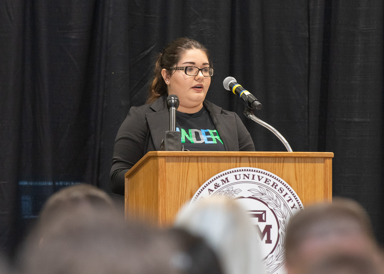 Texas A&M University - Corpus Christi student Aspen Stinson shares her experiences in the foster care system.