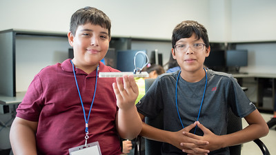 Jacob Castro (Left) and Armando Martinez (Right)