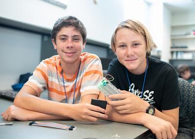 Mac Yoskowitz (Left) and Kai Meyer (Right)