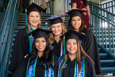 080318 College of Nursing and Health Sciences Hooding and Recognition Ceremony
